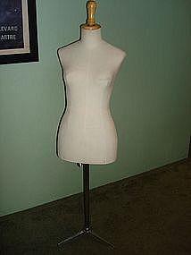 Vintage French Mannequin Dress Form Stockman Paris