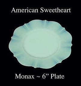 "American Sweetheart Monax 6"" bread & Butter Plate"