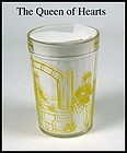 HA Child�s Yellow Nursery Tumbler ~ the Queen of Hearts