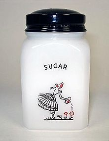 McKee Short SUGAR Shaker ~ Tipp Watering Can Lady ~