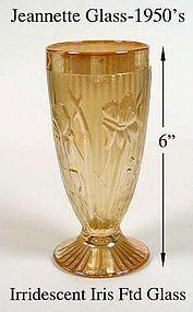 Jeannette Iris Marigold 6 inch Ice Tea Tumbler