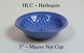 HLC Harlequin Basket Weave Small Mauve Nut Cup