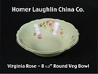 Homer Laughlin China Co ~ 8.5 inch Round Vegetable Bowl