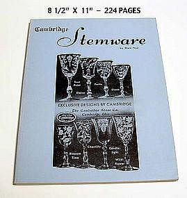 Cambridge Stemware & Pattern ID Book by Mark Nye