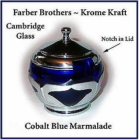 Cambridge Farber Brothers Cobalt Krome Kraft Marmalade