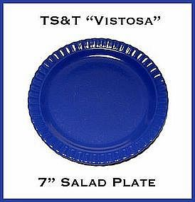 "TS&T ~ Vistosa Cobalt 7"" Salad Plate ~ 2 Available"