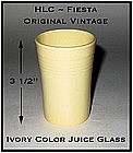 HLC Genuine Fiesta Unusual Ivory Juice Glass