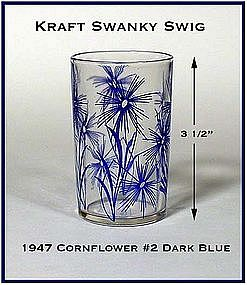 Kraft Swanky Swig Cornflower Blue #2