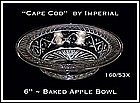 Cape Cod 160/53X Baked Apple Rimmed Bowl