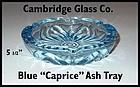 Cambridge Glass Blue Caprice Ash Tray