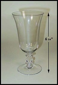 Cambridge Stradivari - Regency Crystal 10 oz Goblet