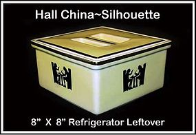 Hall Taverne Silhouette 8� X 8� Refrigerator Leftover