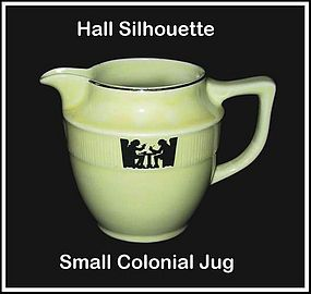 Hall Taverne Silhouette Small Colonial Jug/Pitcher