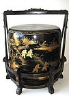 Chinese Vintage Lacquered Wedding Food Container