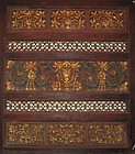 Chinese Antique Gilt Panel with Floral Carvings