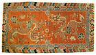 Tibetan Antique Dragon Rug