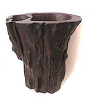 Chinese Antique Wooden Brush Pot