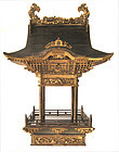 Japanese Large Golden Shrine