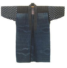Japanese Antique Indigo Work Coat