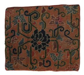 Antique Tibetan Wool Carpet
