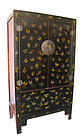 Chinese Antique Large Cabinet with Butterflies