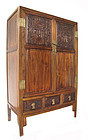 Chinese Republic Period Carved Cabinet