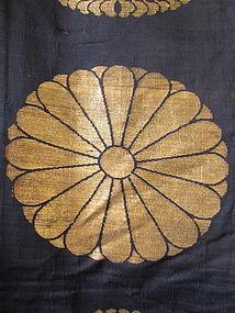 Japanese Antique Large Buddhist Textile Cover
