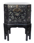 Antique Chinese Inlaid Lacquered Box