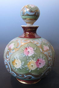 Japanese Antique Nagoya Porcelain Perfume Decanter
