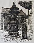 Vintage Print of Shanghai by Yastriez 1935