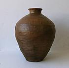 Antique Japanese Shigaraki Jar