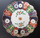 Antique Japanese Set of 8 Porcelain Plates