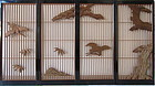 Japanese Antique Shoji with Cranes and Pine