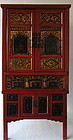 Chinese Two Tiered Cabinet