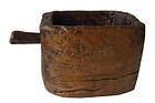 Antique Southeast Asian Wood Vessel