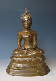Vintage Thai Buddha Statue