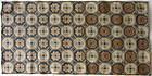 Antique Japanese Ryukyu rug