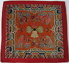 Antique Tibetan Prayer Rug