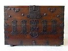 Antique Korean Chosun Period Bandaji Chest