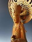 Japanese Sculpture of Kuze Kannon by Jimbo Yutaka