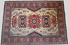 Antique Hand Knotted Kazak Rug
