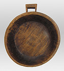 Southeast Asian Teak Handled Serving Bowl