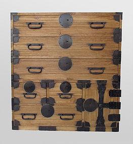 Japanese Antique Small Kiri Tansu