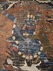 Thangka of Dancing Bull - 18th Century