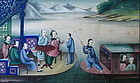 Cantonese Export Painting - Boat Banquet