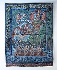 Thailand Painting - Jataka Tale