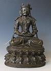 Antique Nepalese Bodhisatva
