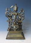 Antique Indian Statue of Durga