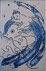 Water Baby Print by Mayumi Oda