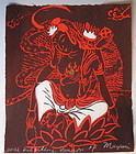 Wish Fulfilling Kannon by Mayumi Oda